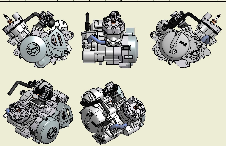 General Motor Derbi 49cc 6v