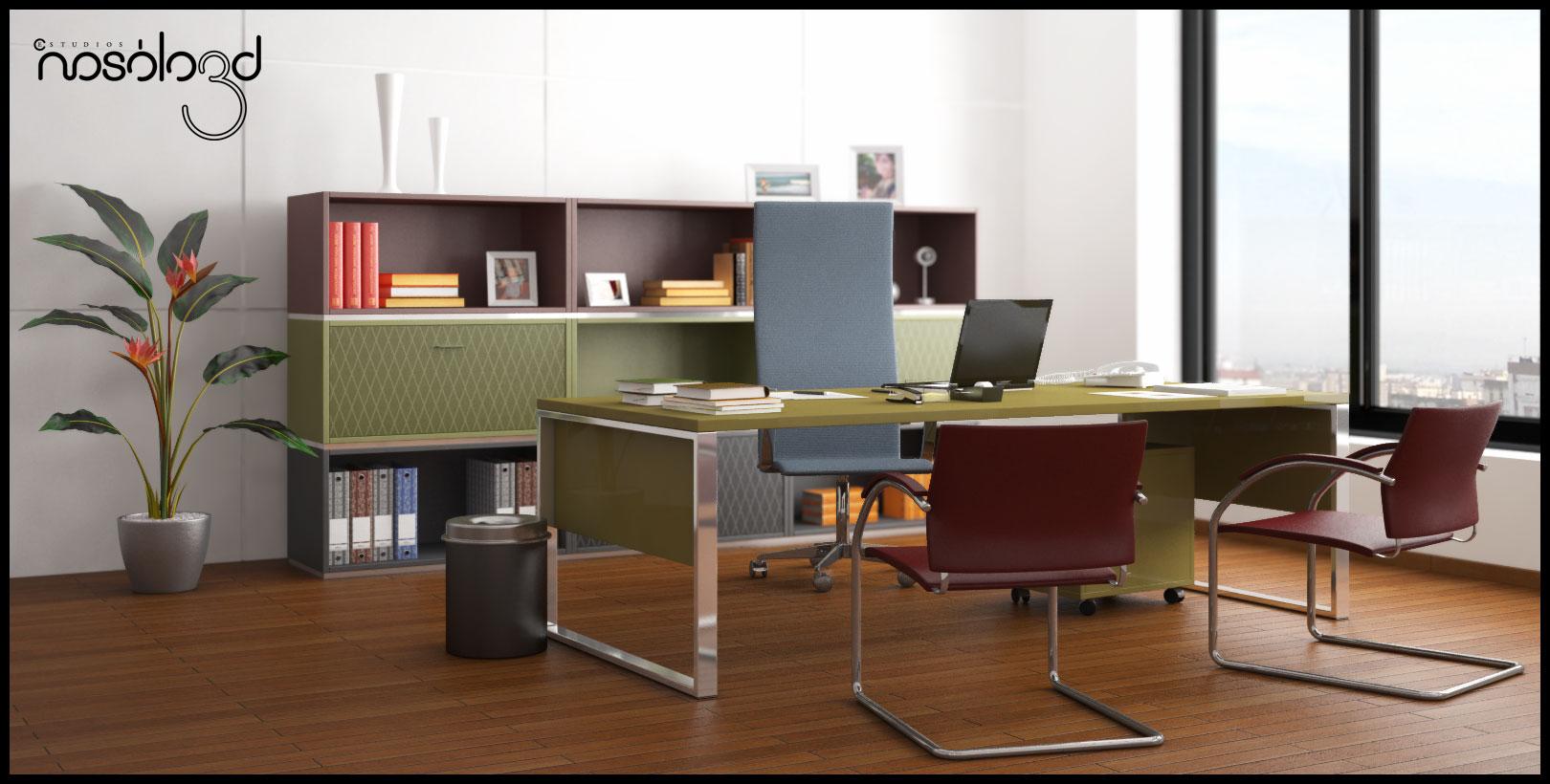 Oficina con cuatro ambientes for Despacho oficina