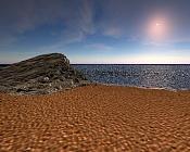 Una playa y un peñon-playa.jpg