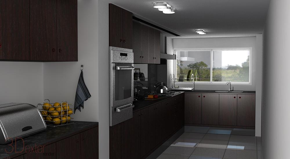 Cocina interior for Interior cocinas modernas
