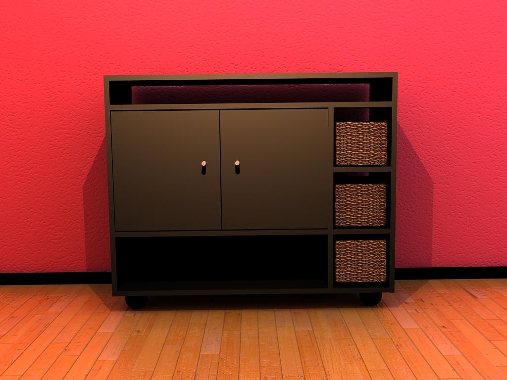 Render De Mueble Interior Con Vray # Muebles Deinterior