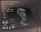 alien equino - Sesion de modelado a ritmo de swing   -sesion01_alien01_web.jpg