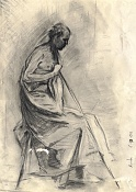 Dibujos rapidos , Bocetos  y apuntes  en papel -sketch_of_man_by_isalro.jpg