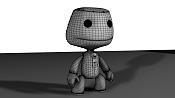 Modelen un sack boy  el personaje de litle big planet de PS3 -2zoagrr.png