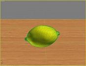 2ª actividad de modelado: Modelar  y texturizar  un limon -limon_malla.jpg
