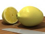 2ª actividad de modelado: Modelar  y texturizar  un limon -limon-final.jpg