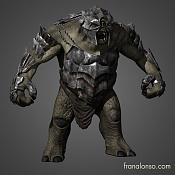 Por fin  Demoreel de modelado terminada - Fran alonso-troll-armadura-frontal.jpg