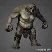 Por fin  Demoreel de modelado terminada - Fran alonso-troll-frontal.jpg