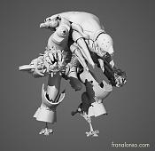 Por fin  Demoreel de modelado terminada - Fran alonso-romulus-frontal.jpg