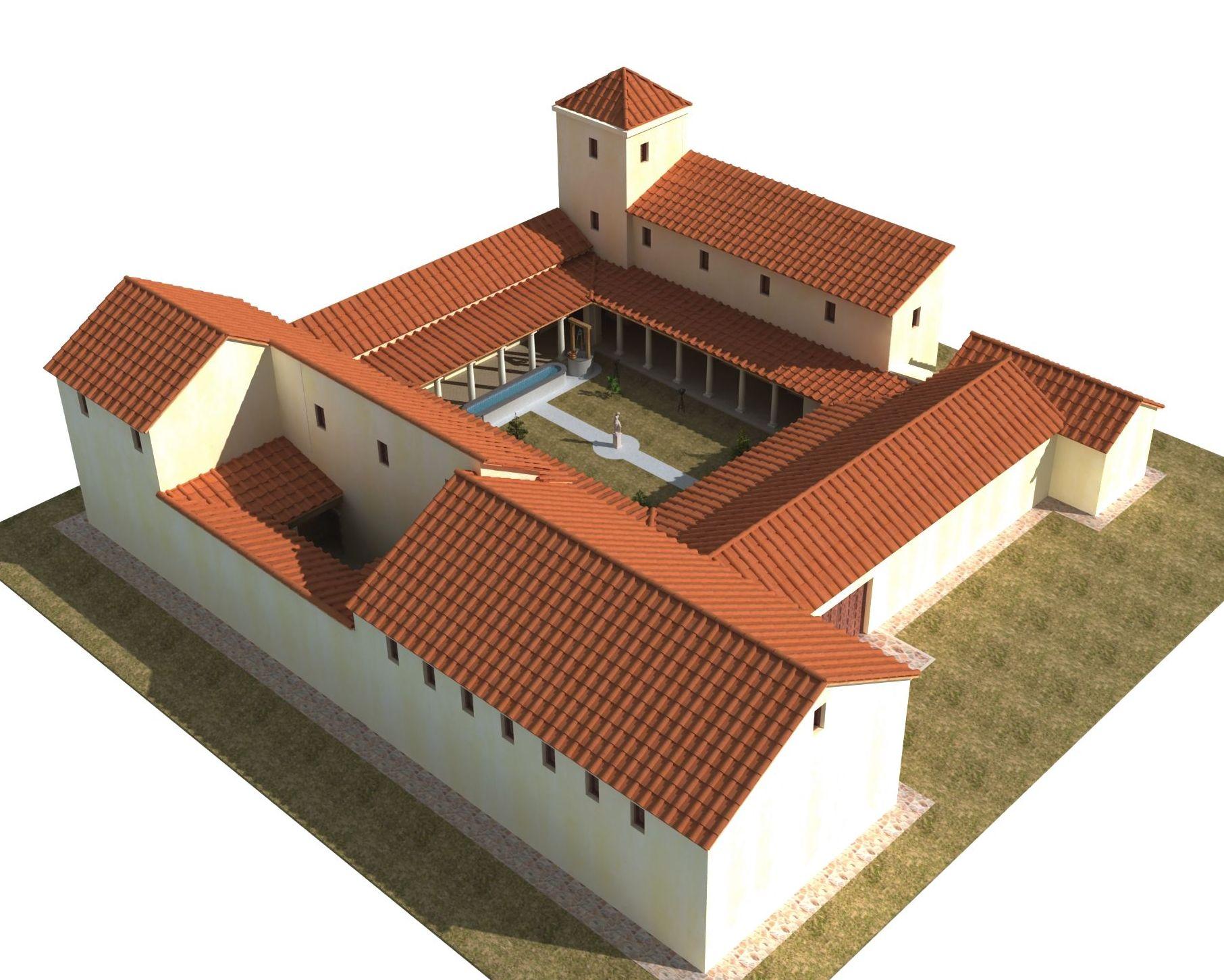 Mi villa romana for Villas romanas