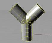 Como modelar una union triple entre cilindros  forma de Y -cilindros-antes-de-la-union.png