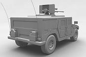 Modelador Vehiculos 3d Freelance para trabajo onsite 2-hummer2-trasera.jpg