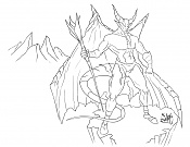 Quiero ilustrar  EdiaN -satiro-trazo-digital.jpg