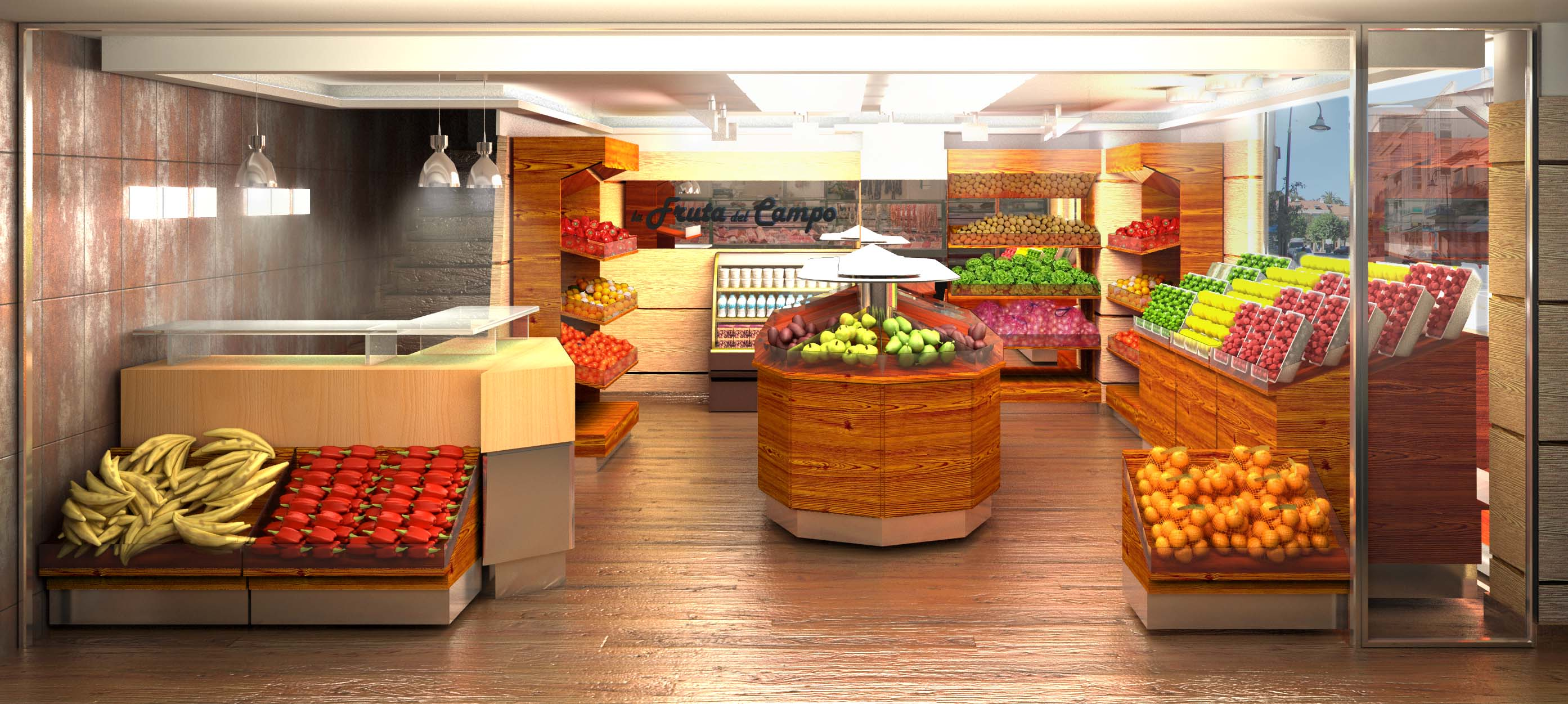 Fruteria for Muebles de fruteria