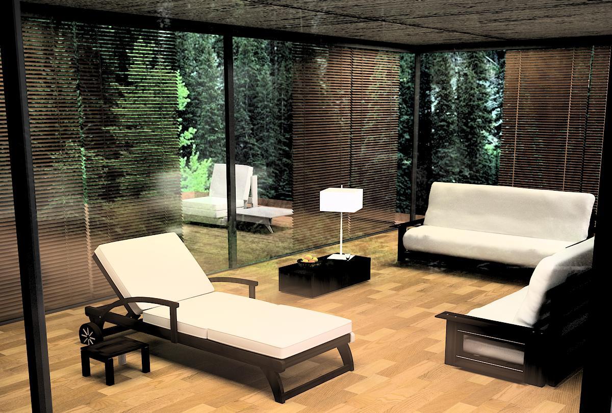 Terraza de jardin - Mobiliario de terraza y jardin ...