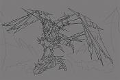 Quiero ilustrar  EdiaN -cazador_trazo.jpg