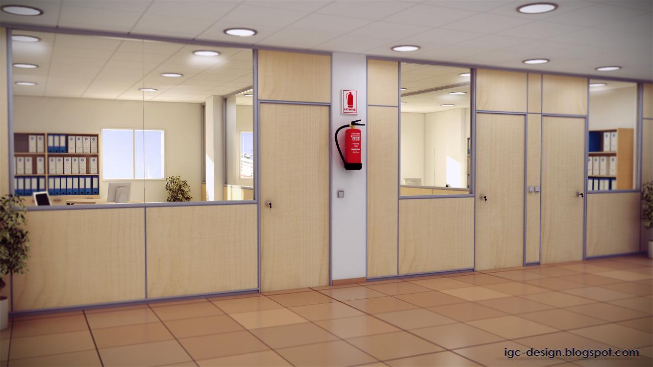 Mampara de oficinas for Mamparas para oficina