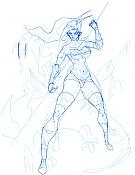 Quiero ilustrar  EdiaN -sketch-guerrera-sexi.jpg