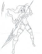 Quiero ilustrar  EdiaN -guerrera-trazo.jpg