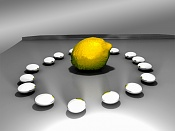 2ª actividad de modelado: Modelar  y texturizar  un limon -limon3d1.jpg