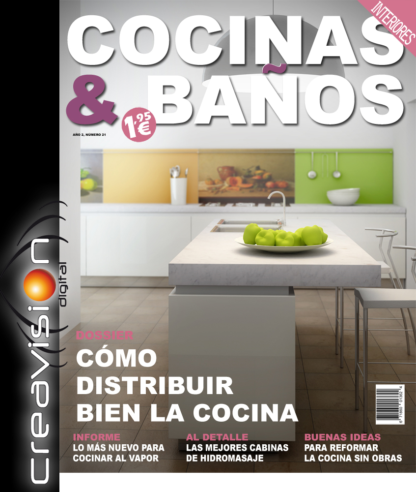 Modo revista cocinas y ba os for Disenos para banos y cocinas