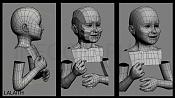 Modelado organico  Personaje Tolkien Lalaiht -lalaith02.jpg