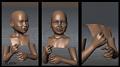 Modelado organico  Personaje Tolkien Lalaiht -lalaith03.jpg
