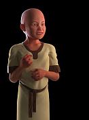 Modelado organico  Personaje Tolkien Lalaiht -lalaith13.png