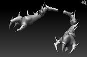 "Modelando ""Cangrejo Dragon""  parte 1 -far246.jpg"