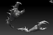 "Modelando ""Cangrejo Dragon""  parte 1 -far247.jpg"