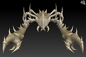 "Modelando ""Cangrejo Dragon""  parte 1 -far253.jpg"