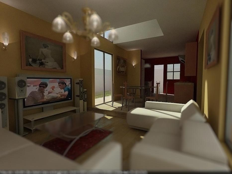 Proyecto casa habitacion valenzuela for Proyecto casa habitacion minimalista