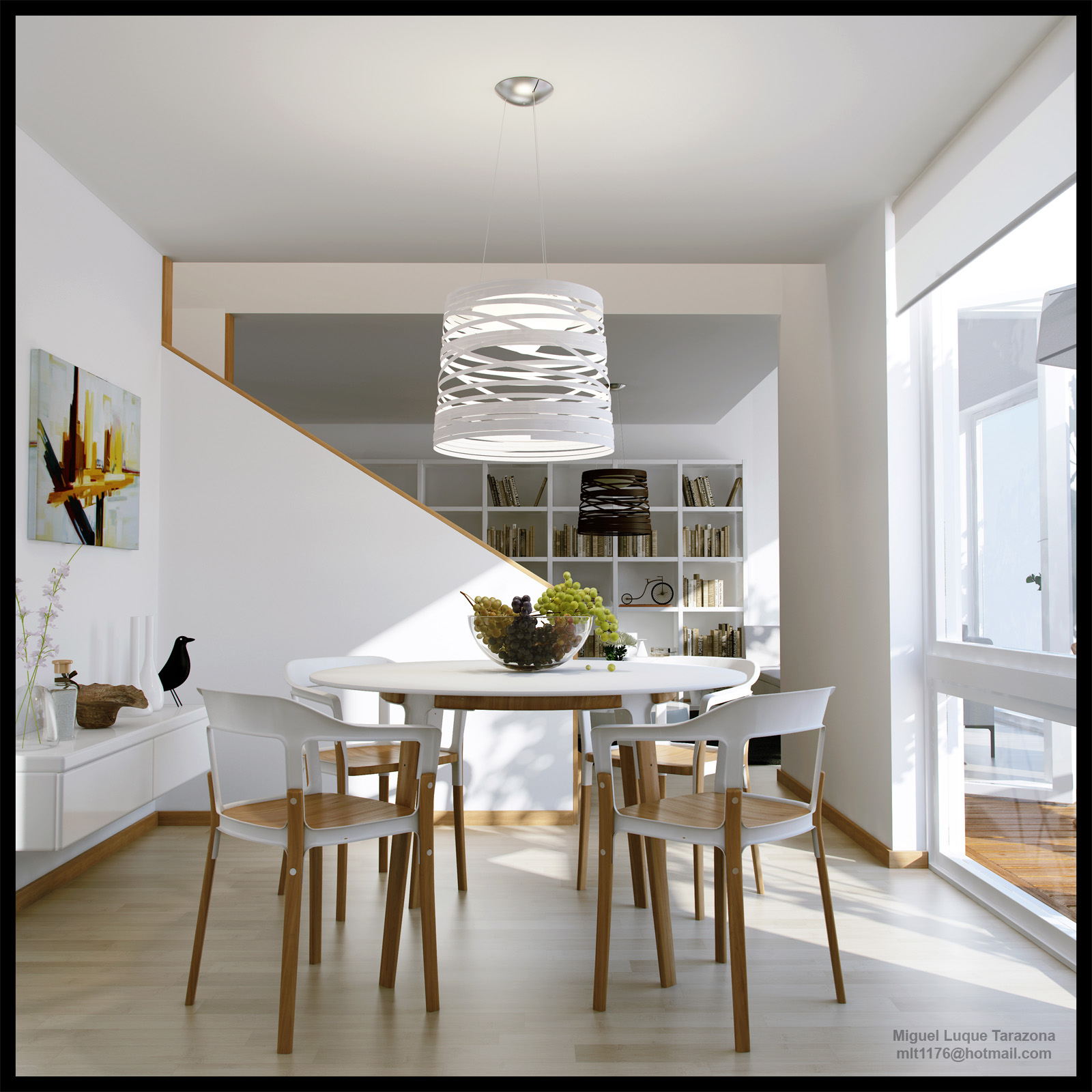 Cocina y comedor for Disenos de cocinas comedor modernas
