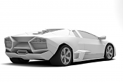 modelando lamborghini reventon-clayback2.png