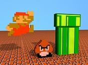 Super Mario Bros  NES  Tiempos aquellos:' -mario003-c.jpg