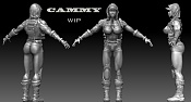 Cammy Street Figther - New Concept - para modelo 3D-cammy-wip.jpg