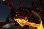 Batalla en las afueras del Castillo de las Montañas-dragon.jpg