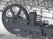 Saint Chamond, otro tanque :-  Frances de la 1ª Guerra Mundial-wip-rodaje-3.jpg