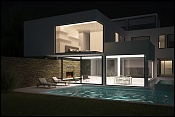 Carrara House de andres Remy arquitectos-exterior-nocturno.jpg