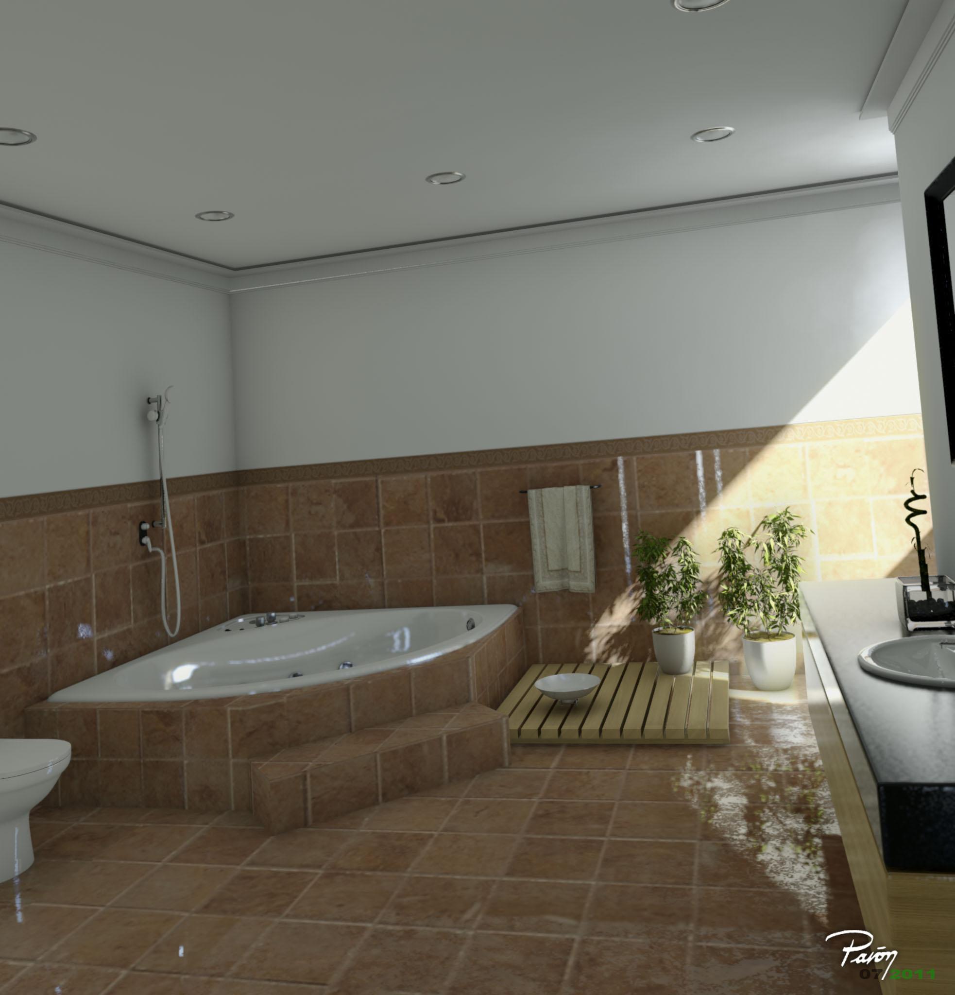 imagenes de baño en tina ~ dikidu