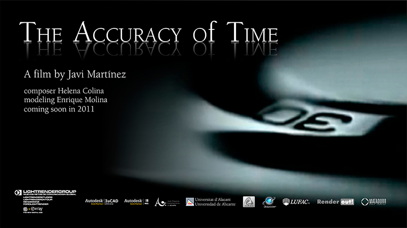 The accuracy Of Time    la precision del tiempo-cartel_mail.jpg