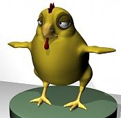 Corto de animacion: Cuestion de Honor-pollo1.jpg