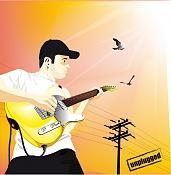 Let's Vector  Vector art Topic-guitar.jpg