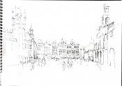 Dibujos rapidos , Bocetos  y apuntes  en papel -bruselas.jpg