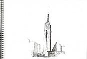 Dibujos rapidos , Bocetos  y apuntes  en papel -empire.jpg