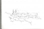 Dibujos rapidos , Bocetos  y apuntes  en papel -osera2.jpg