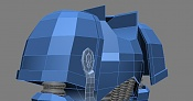 Primer Modelo  Modelando por modelar Space Marine -wire-3.jpg