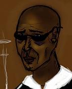 3ª actividad de Ilustracion:   Expresiones Faciales  -bluesman.jpg