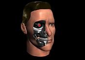 Modelado cabeza Terminator  arnold Swarzenneger   T-101 -dos_caras.jpg