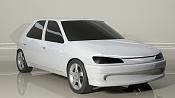 Mi primer modelado Peugeot 306-rendercarroceriayllanta.jpg
